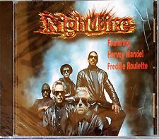 NIGHTFIRE - FEATURING HARVEY MANDEL, FREDDIE ROULETTE - SEALED CD