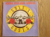 GUNS N ROSES - WELCOME TO THE JUNGLE - Original Sleeve Only – No Record