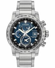 Citizen Eco Drive AT9070-51L Mens Atomic Radio Controlled World Time Steel Watch