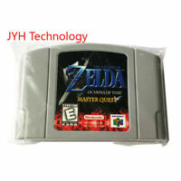 The Legend of Zelda Ocarina of Time Master Quest Video Game US For Nintendo N64