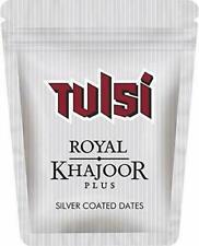 9 X 8gm Tulsi Royal Khajoor Plus Silver Coated Dry Dates Mouth Freshener Menthol