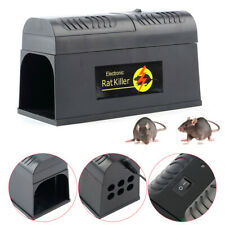 Electronic Mouse Trap Mice Killer Rat Pest Control Electric Zapper Rodent 8000V