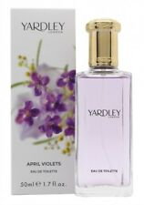 YARDLEY APRIL VIOLETS EAU DE TOILETTE 50ML SPRAY - WOMEN'S FOR HER. NEW