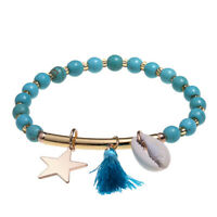 Women Star Tassel Shell Ankle Anklet Chain Bracelet Beach Foot Boho Jewelry shan