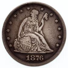 1876 20C Silver Coin in Very Fine Condition Rare Philadelphia