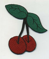 cherry patch badge rockabilly red pin up girl sweater jacket cute retro