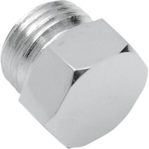 Colony Oil Plug  Hex - 5/8 in-18 - Chrome 8610-1*