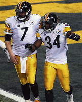 BEN ROETHLISBERGER-RASHARD MENDENHALL PITTSBURGH STEELERS 8X10 SPORTS PHOTO (T)