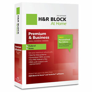 2012 H&R Block Premium & Business Federal & State Tax Programs - Quick Free Ship