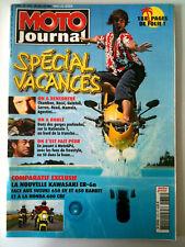 n°1675 MOTO JOURNAL   Spécial Vacances sur 188 pages