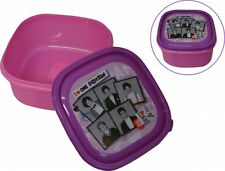 One Direction 'Pink' School Sandwich Box Lunch Brand New Gift