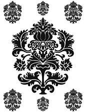 d-c-fix® Self Adhesive Wall Stickers Ornament Black 65cm x 85cm 350-0119
