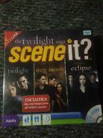 Scene It? Twilight Deluxe Edition Vampire Family DVD Board Game