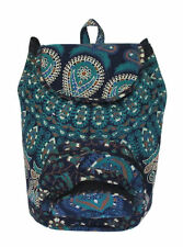Indian Cotton Hippie Mandala Unisex Bohemian Backpack Bag With Adjustable Strap