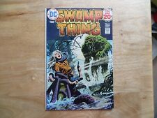 1974 DC SWAMP THING # 11 SIGNED BY CREATOR BERNI WRIGHTSON, WITH POA