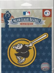 San Diego Padres Yellow Swinging Friar Patch Official MLB Jersey Sleeve Logo Pkg