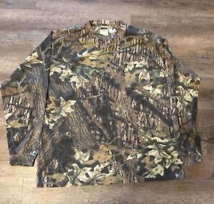 Mossy Oak Cami Classics Men's Long Sleeve Shirt Size X Large