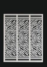 """15 Zebra Stripes White Reflective Arrow Wraps 4x1"""""""