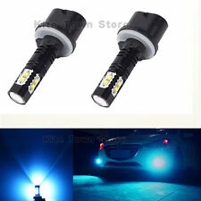 2x 880 890 892 893 899 50W 8000K ICE BLUE CREE LED Projector Fog Light Bulbs #2