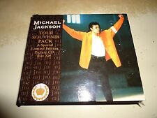 MICHAEL JACKSON UK TOUR SOUVENIR PACK 1992 LIMITED EDITION PICTURE CD NO PROMO