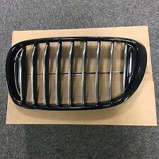 BMW Genuine M Performance Front Left Grille Trim Gloss Black Finish 51712289685