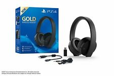 PlayStation 4 Wireless Headset Gold Edition 7.1 Virtual Sound Sony Ps4 VR