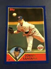 2003 Topps # 384 JOHAN SANTANA Minnesota Twins Sharp Look !