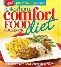 Comfort Food Diet Cookbook : Slim down with 380 Recipes! by Taste of Home