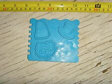 Play-Doh Teletubbies blue craft doh replacement piece mold form flowers hat etc