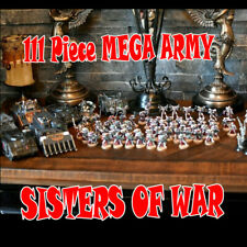 Warhammer 40k Painted Adepta Sororitas SISTERS OF BATTLE Tanks 111 Fig Army Lot