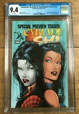 Cyblade/Shi: The Battle For Independents Preview #NN 1st WITCHBLADE CGC 9.4