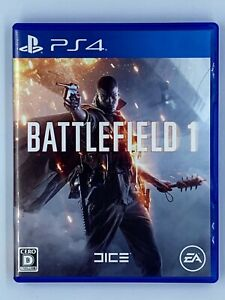 Battlefield 1  PlayStation 4 PS4 Japan Import US Seller