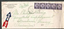 1955 cover Doberman Pinscher Club Of America to Grosshessen Amer Zone Germany