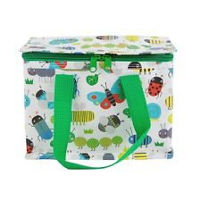 Kids Adult Lunch School Bag Insulated Picnic Floral Cool Recyled Bags Busy Bugs RJB TOTE066
