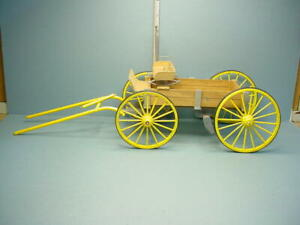 Miniature Buckboard Handcrafted 1/12 Scale - Handcrafted  B. Goldsberry