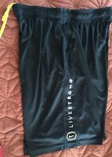 Nike Livestrong shorts - L - Dri-Fit - Basketball Pocket Black Polyester