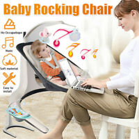 2 in 1 Multifuntional Electric Baby Cradle Music Swings Rocking Chair
