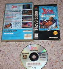 X-COM: UFO Defense (Sony PlayStation 1 ps1) Complete Long Box