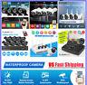 1080P HD HDMI 8CH/4CH DVR IR CUT CCTV Security Camera 3000TVL System 2MP 1TB Kit