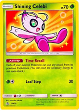 Shining Celebi SM79 Shiney Holo Pokemon Promo Card (Shining Legends Promo)