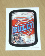 2017 Topps Wacky Packages Old School 6 OS6 TAN BACK sticker BULLY