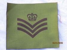 Distintivo rango: Staff Sergeant , per DPM Giacca, GB, Gr. 100 x 90mm