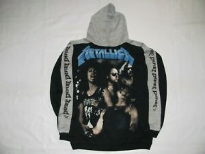 METALLICA  Master of Puppets   - Felpa /Hoodie  -  Empire  Made in Italy 1988