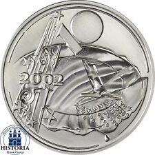 Viktor Huster Münzprobe Währungsunion Deutschland 10 Euro Silber 2002