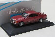 Mercedes Benz 300 CE Coupe ( 1987-1992 ) rot / Minichamps 1:43
