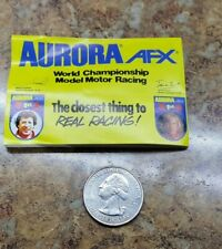 Aurora AFX Slot Car Mini Brochure Catalog