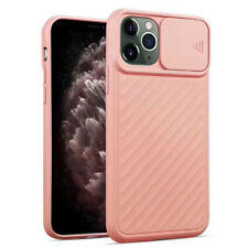 For iPhone 11 Pro Max XR XS 8 7Plus Silicone Rubber Case Camera Protective Cover