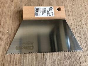 B2 Roberts Adhesive Spreader B2 Size Karndean Amtico/180 mm Wide/Small Spreader