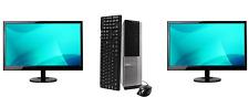 "Dell OptiPlex 390 SFF Dual 22"" Core i5 2400 3.1ghz 8GB 1TB HDD DVD Win10 Pro"