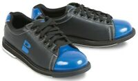 New Brunswick Men's TZone Black/Blue Size 8.5 Bowling Shoes Universal Soles